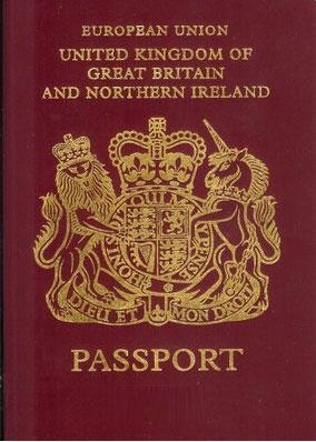 passeport angleterre