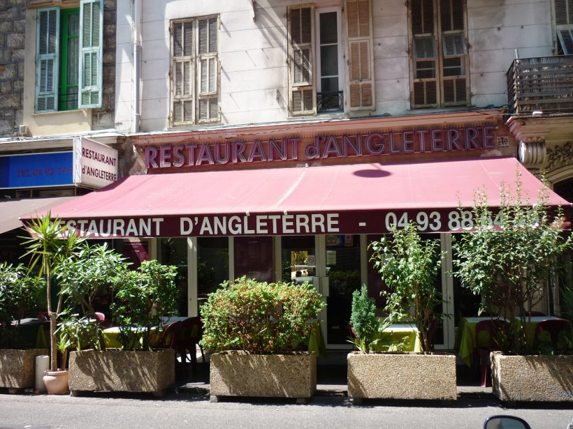 restaurant d angleterre nice