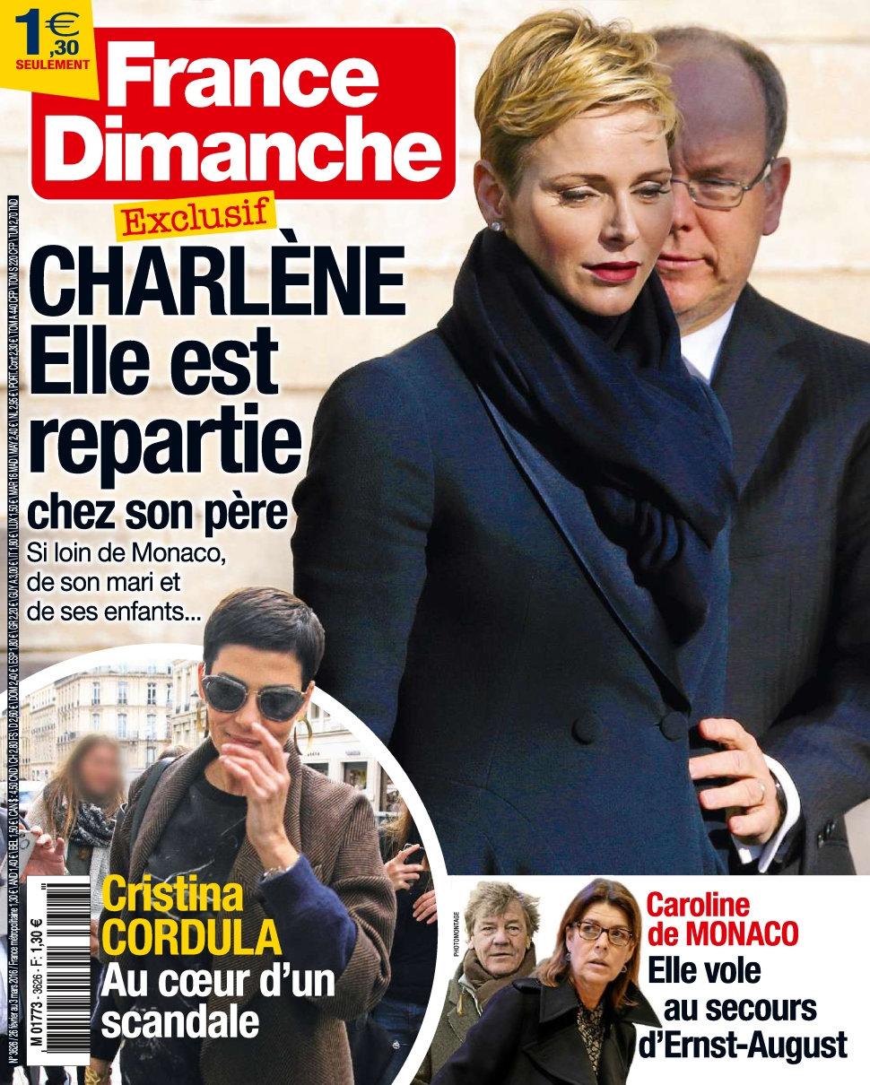 France dimanche magazine, je le reçois désormais à la maison